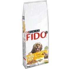 FIDO psí krmivo pro dospělé psy - 15 kg