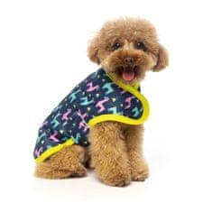 Fuzzyard kabátek pro psy - No Probllama - 35-38,5 cm