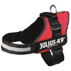 Julius K9 postroj pro psy, L, 66-85 cm, červený/černý