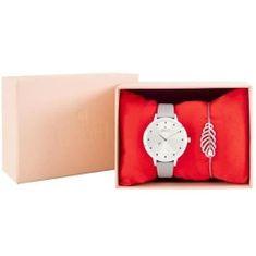 Cdiscount dárková sada dámských hodinek a náramku