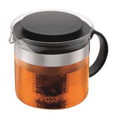 Bodum čajník se sítkem, 1 l, černý