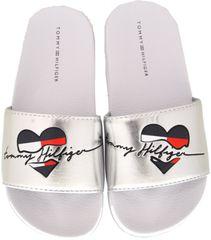 Tommy Hilfiger dívčí pantofle T3A0-30677-0632904