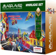 MAGPLAYER Magplayer magnetická stavebnice 112 ks