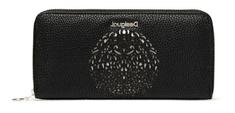 Desigual portfel damski czarny Tribal Zip Aroun 20SAYP17