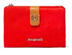 Desigual portfel damski czerwony Hela Carmen 20SAYP55