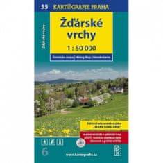 1: 50T (55)-Žďárské vrchy (turistická mapa)