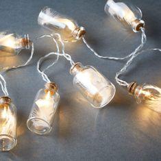 Butlers LED Světelný řetěz s peříčky 10 světel