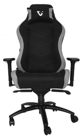 UVI Chair Alpha gaming stol, siv