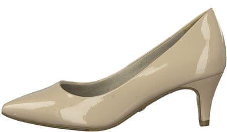 Tamaris 22495 ženski čevlji s peto, 38, bež