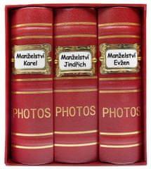 KPH Fotoalbum Old box 300 10x15 červené