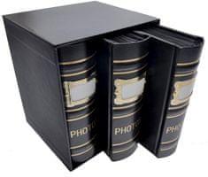 KPH Fotoalbum Old box 300 10x15 čierné