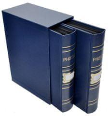 KPH Fotoalbum Old box 400 10x15 modré