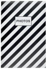 KPH Fotoalbum Mainstream čierné 400 foto 10x15