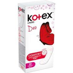 Kotex Deo Superslim intimní vložky 20 ks