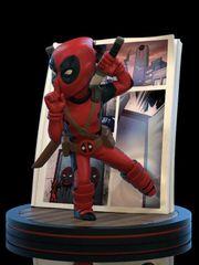Figurka Deadpool - 4D Diorama (Q-Fig)