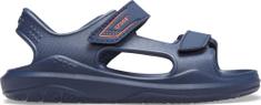 Crocs sandały chłopięce Swiftwater Expedition K Navy/Navy 206267-463