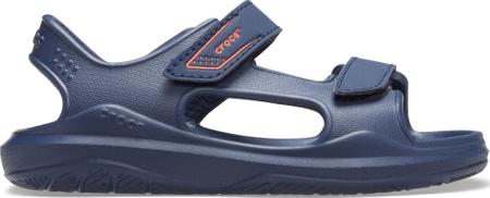 Crocs sandały chłopięce Swiftwater Expedition K Navy/Navy 206267-463 28-29, niebieskie
