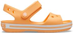 Crocs dievčenské Crocband Sandal Kids Cantaloupe 12856-801