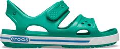 Crocs chlapčenské Crocband II Sandal PS Deep Green/Prep Blue 14854-3TV