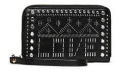 Desigual Damski czarny portfel Azabache Mini Zip 20SAYP35
