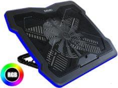 Evolveo Ania 6 RGB, chłodząca podstawka pod laptopa ANIA6
