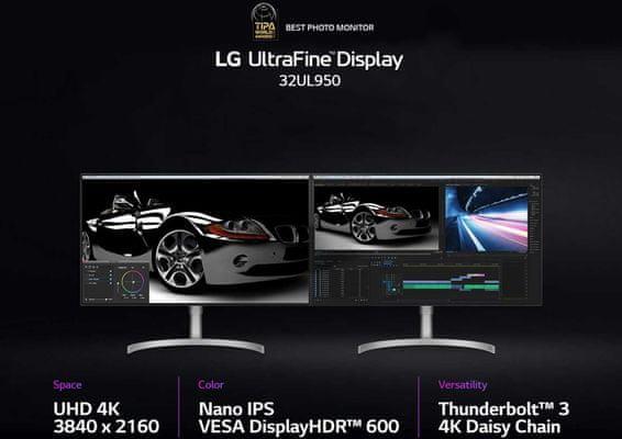 LG 32UL950 (32UL950-W.AEU) Nano IPS DCI.P3 98% HDR 600 4K