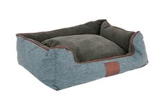 Akinu Chester krevet za psa, smeđi/sivi