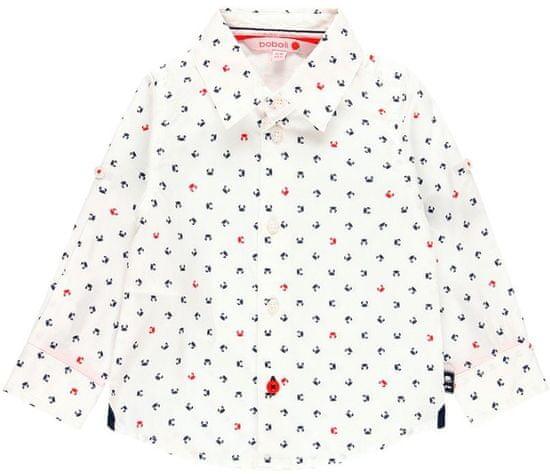 Boboli Chlapecká společenská košile 68 bílá