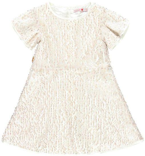 Boboli Dievčenské šaty 116 béžové