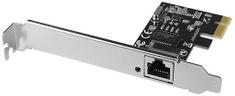 AXAGON PCEE-GRH PCIe Gigabit síťová karta s čipem RTL8111H + LP