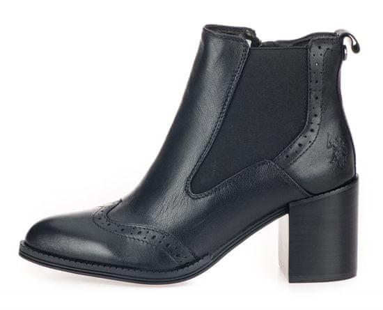 U.S. POLO ASSN. dámska členková obuv Adelle JUDIT4070W9/L1 36 čierna