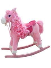 MILLY MALLY Houpací koník s melodií Milly Mally Princess pink