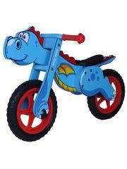 MILLY MALLY Dětské odrážedlo kolo Milly Mally DINO blue