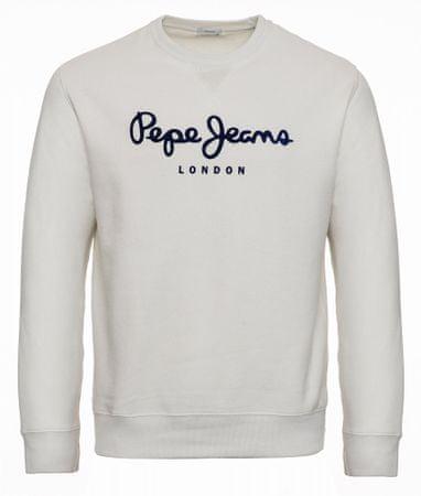 Pepe Jeans Albert férfi pulóver, PM581721, M, krémszínű