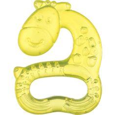 AKUKU Chladící kousátko Akuku žirafka žlutá