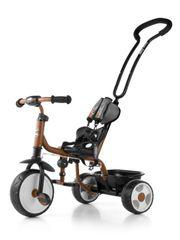 MILLY MALLY Dětská tříkolka se zvonkem Milly Mally Boby 2015 brown