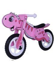 MILLY MALLY Dětské odrážedlo kolo Milly Mally DINO pink