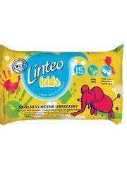 LINTEO Vlhčené ubrousky Linteo Baby Kids 15 ks