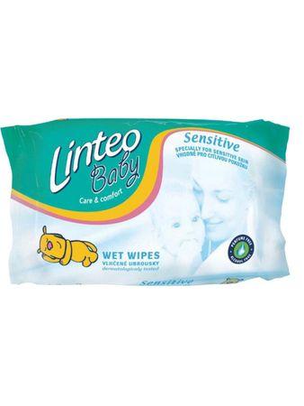 LINTEO Nedves törlőkendő Linteo Baby 64 db Sensitive