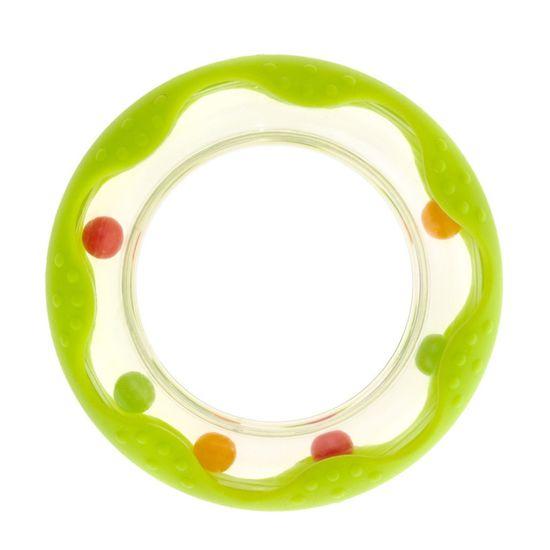AKUKU Dětské chladící kousátko Akuku kolečko zelené