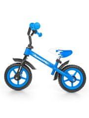 MILLY MALLY Gyerek futóbicikli Milly Mally Dragon fékkel kék