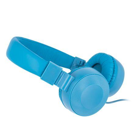 setty. Słuchawki przewodowe z mikrofonem na głowie, granatowe
