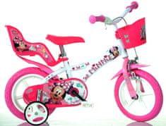 """Dino bikes Dívčí kolo Minnie 12"""" - zánovní"""