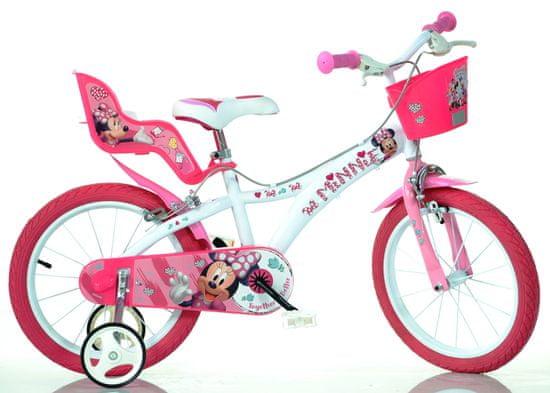 """Dino bikes Dívčí kolo Minnie 14"""""""