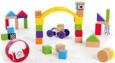 Hape Baby Einstein drewniany zestaw zabawek Curious Creations Kit