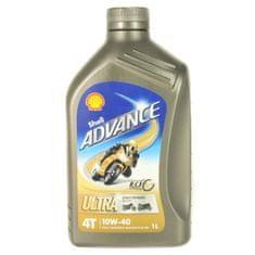 Shell Motorový olej Advance Ultra 4T 10w-40 1L