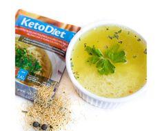 KetoDiet Proteinová polévka kuřecí s nudlemi 7 x 33 g