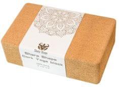 Sharp Shape Cork Yoga block
