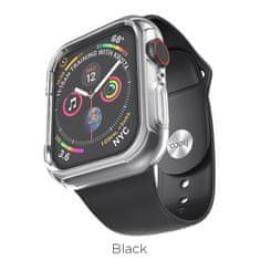 Hoco - Gumový náramek Apple Watch (Černý) 42/44mm