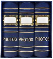 KPH Fotoalbum Old box 300 10x15 modré